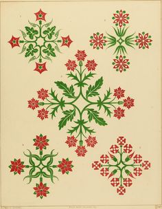 """Image from page 43 of """"Floriated ornament: a series of thirty-one designs"""" (1849) 