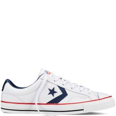 Converse -CONS Star Player Leather-WhiteLow Top