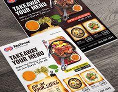 Food Menu - Restaurant Menu Template by Muhammad irvan on Dribbble Menu Design, Food Design, Flyer Design, Print Design, Restaurant Flyer, Restaurant Menu Template, Menu Flyer, Cafe Menu, Business Flyer Templates
