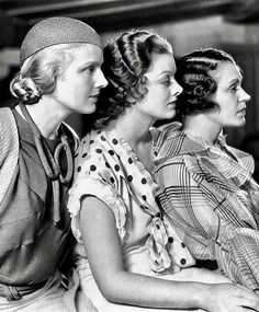 Ann Harding, Myrna Loy & Alice Brady - When Ladies Meet Hollywood Cinema, Old Hollywood Stars, Old Hollywood Glamour, Golden Age Of Hollywood, Vintage Hollywood, Classic Hollywood, Classic Actresses, Classic Films, Pre Code Movies