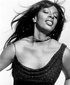 LaDonna Adrian Gaines (Dec 31, '48 – May 17, '12), known by the stage name Donna Summer, was an American singer/songwriter who gained prominence during the disco era of the 1970s. She had a mezzo-soprano vocal range, and was a five-time Grammy Award winner. Summer was the first artist to have three consecutive double albums reach number one on the US Billboard chart, and she also charted four number-one singles in the United States within a 13-month period.
