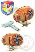 Pecking Chick : Classic Tin Toy Chicken : Wind Up Toy