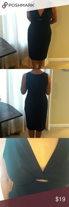 "Black cocktail dress Price Drop!😊 Elegant sheer, full lined cocktail dress by ILHA do MUNDO, BRASIL. Length 40"", waist 34 "". Like new. ILHA do MUNDO  Dresses Midi"