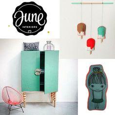 By June; unieke items voor op de kinderkamer