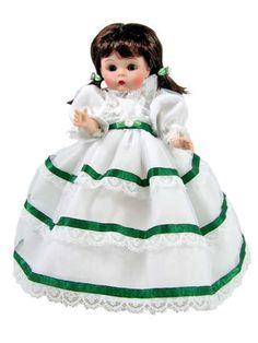 """7"""" Scarlet Styled Fashion Dress fits Ginny, Wendy, Muffy Dolls
