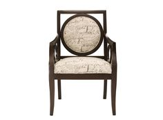 Script Accent Chair | This accent chair is ready to add some unexpected style to your home!