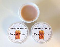 Jack & Coke Scent  DRUNKEN TARTS  3 or 6 by DrunkenTarts on Etsy