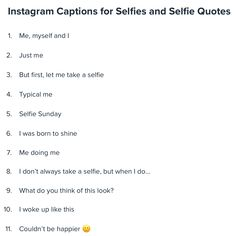 One Word Instagram Captions, Cute Insta Captions, Selfie Captions, Selfie Quotes, Bio Quotes, Quotes About Haters, Real Talk Quotes, Family Captions, Inspirational Instagram Quotes