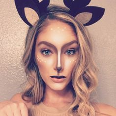 deer halloween makeup by katiemparr upload your halloween selfie on sephoras beauty insider community for
