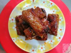 Air-fried Honey Pork Ribs (chinese style)