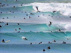 Snapper Rocks, Rainbow Bay, QLD Australia. Picture: Luke Marsden