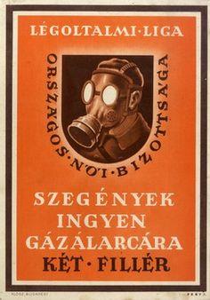Fery Antal: Szegények ingyen gázálarcára (1939)