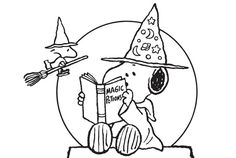 Peanuts Halloween Coloring Pages - AZ Coloring Pages