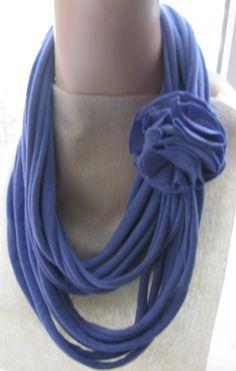String Scarf Necklace Headband Belt with by BijouxbyFrancesca, $24.00