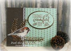 Stampin' Up! Best Birds, Pretty Pines