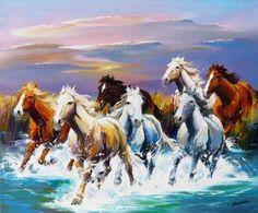 7 Running Horses Wallpaper Hd Wallpaper Directory