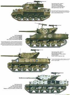 US WW2 Tank Destroyers