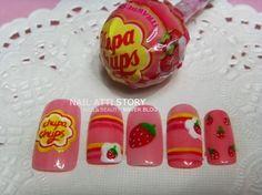 So Sweet...    화이트데이 네일아트:사탕 네일아트 모음♥ : 네이버 카페