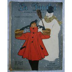 Vintage Mexican Magazine.Revista antigua mexicana.México.Vintage Christmas.Navidad. Revista La Familia.Christmas gift.Extraordinary edition ($70) found on Polyvore
