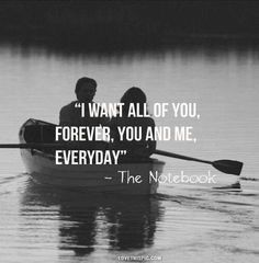 the notebook - nicholas sparks ❤️ Cute Couple Quotes, Great Quotes, Quotes To Live By, Inspirational Quotes, Love Sayings, Change Quotes, Anniversary Quotes, Tv Quotes, Life Quotes