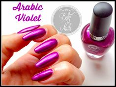 Roby Nails Arabic Violet