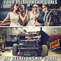 Nights out and garage days. Truck Memes, Funny Car Memes, Car Humor, Country Girl Quotes, Country Girls, Sprint Cars, Race Cars, Woman Mechanic, Mechanic Humor