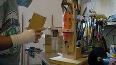 como hacer torno casero para madera - YouTube