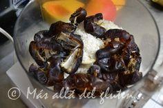 Más allá del gluten...: Pastel Congelado de Fresas RAW (Receta SCD, GFCFSF, Vegana, RAW)