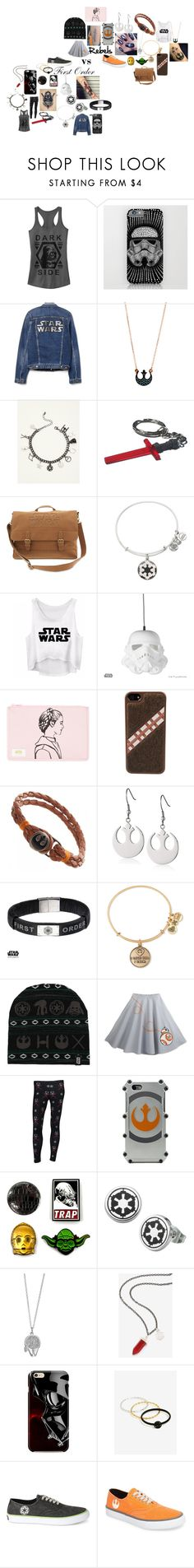 """""""Star Wars"""" by astrangeevent on Polyvore featuring Torrid, Alex and Ani, PBteen, STATE Bags, Episode and Sperry"""