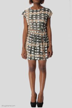 Turtle Tile Print Smock Dress Smock Dress, Smocking, Turtle, Online Shopping, Dresses, Fashion, Vestidos, Moda, Turtles