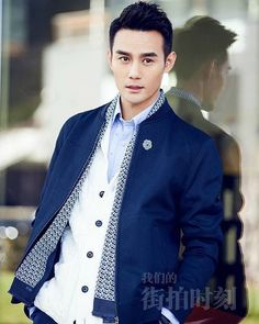 The handsome Chinese superstar Wang Kai