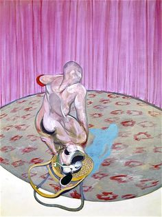 FRANCIS BACON Man Getting Up from a Chair, 1968 Medium Oil on canvas Dimensions 78 x 58 in. Collection Ikeda Museum of 20th Century Art, Japan jpg (618×827)