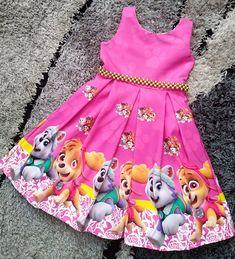 Paw Patrol Dress, Sky Paw Patrol, Paw Patrol Party, Paw Patrol Birthday, Tutu Outfits, Kids Outfits, Little Girl Dresses, Girls Dresses, Christmas Tutu Dress
