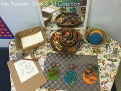 Show and Tell Classroom - Maths Provocation focus on counting - Image credit Francis Bosman