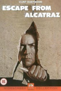 Escape From Alcatraz (1979) Clint Eastwood Film!  About a man who attempts to escape from the formidable prison of Alcatraz! Must See! Very Good! (Alacatraz is a real island prison!) Won't be disappointed!