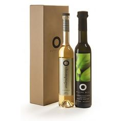 The perfect hostess gift: O Champagne Vinegar & O Fresh Basil Olive Oil
