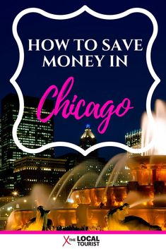 Chicago's expensive, but with these tips you can save money on attractions, theater, restaurants, hotels, and even parking. Click through to find out how to save money exploring this fantastic city in the heart of the US. #chicago #travel #budget #USA