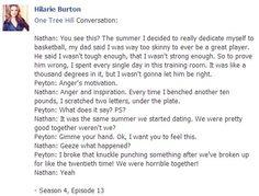 One Tree Hill Quotes Peyton and Nathan Season 4
