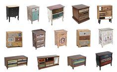 Μεγάλη ποικιλία από κομοδίνα, συρταριέρες και κονσόλες μόνο στο www.design4home.gr