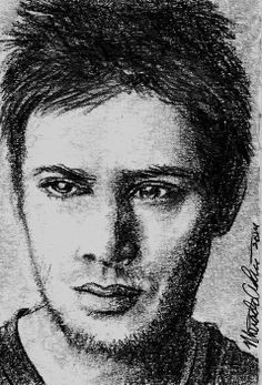 ACEO SUPERNATURAL DEAN WINSTON Original Hand Drawn Sketch Card by MIRACLE A.