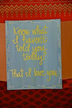 "Custom Scripture or Quote Painting - 8""X10"" Canvas"