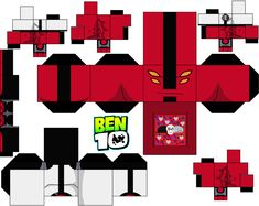 Fourarms by on DeviantArt Ben 10 Party, Ben 1000, Ben 10 Birthday, Easy Crafts For Kids, Paper Crafts, Crafty, Deviantart, Decorations, Google