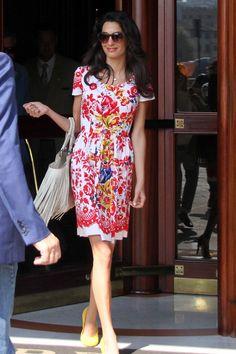 September 8, 2014 Amal Alamuddin Clooney