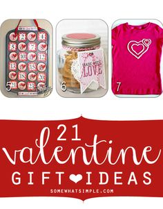 You'll love this Valentine gift guide with 21 different Valentine gift ideas!