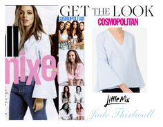 """""""Jade Thirlwall Little Mix Cosmopolitan Magazine UK May 2016"""" by valenlss ❤ liked on Polyvore featuring CO"""