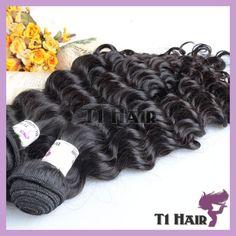 brazilian hair weave bundles deep weave 7A free shipping natural hair extensions keratin 100% natural human virgin hair http://www.aliexpress.com/store/product/brazilian-hair-weave-bundles-deep-weave-7A-free-shipping-natural-hair-extensions-keratin-100-natural-human/1292131_2017457368.html