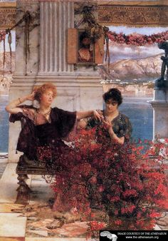 Love's Jewelled Fetter  Sir Lawrence Alma-Tadema