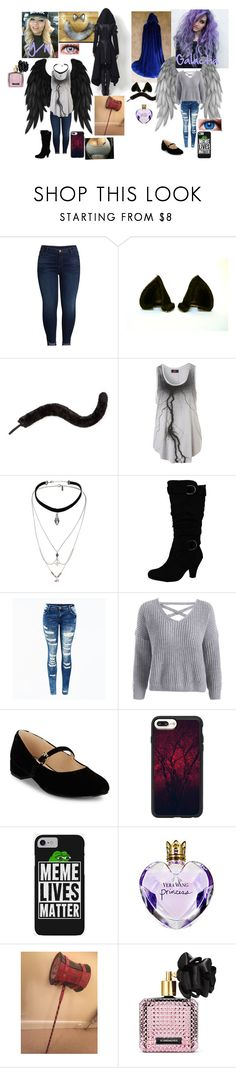 """L/N #Wattpad"" by rhiannabliss on Polyvore featuring KUT from the Kloth, Monsoon, Topshop, Isaac Mizrahi, Casetify, Vera Wang, Sabi and Victoria's Secret"