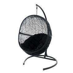 hangstoel egg voor in huis pinterest tuin. Black Bedroom Furniture Sets. Home Design Ideas