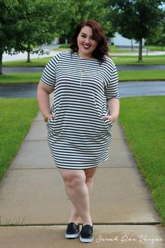 Plus Size Style – 6 Queens Who Own Their Stripes